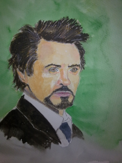 Robert Downey Jr by dabeechey